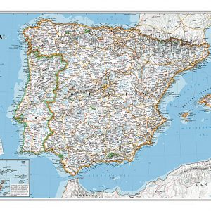stor-karta-over-spanien-portugal-for-nalar-9780792249870