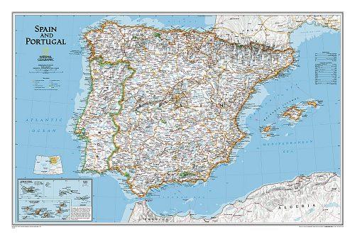 stor-karta-over-spanien-portugal-for-nalar-9780792249870