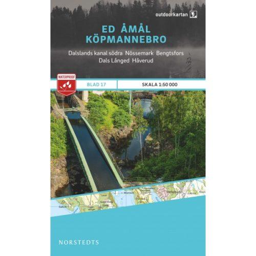 Outdoorkarta-17-Ed-Åmål-Köpmannebro-9789113068381