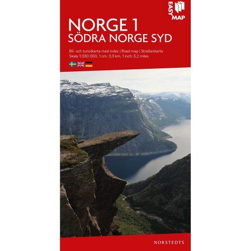Bil- och turistkarta över del av Norge-9789113083353-1000x1000