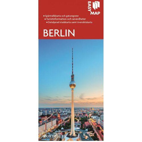 Stads- och turistkarta över Berlin Easymap 9789113076379