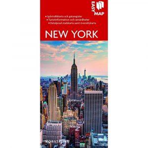 Stads- och turistkarta över New York Easymap 9789113076218