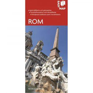 Stads- och turistkarta över Rom Easymap 9789113076409