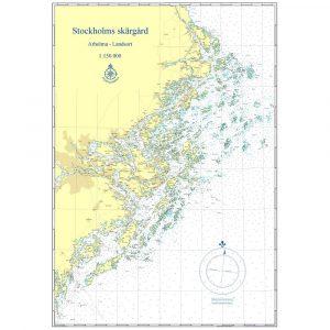 hydrographica inramat sjökort