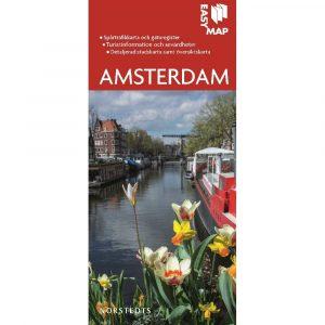 Stads- och turistkarta över Amsterdam Easymap 9789113076423