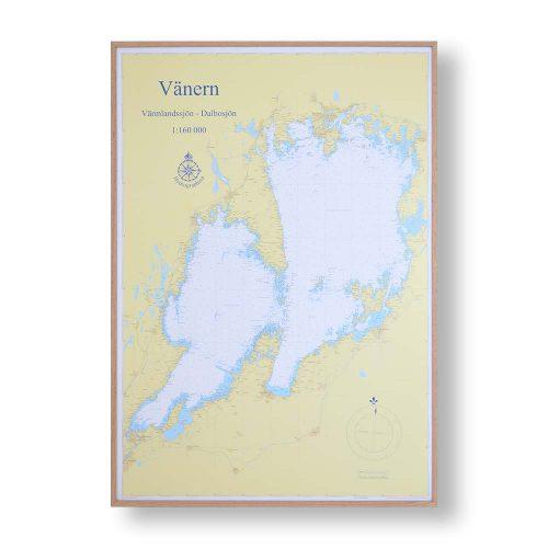 sjökort-vänern-för-väggen-hydrographica-ram-ek-70cm-100cm-huvudbild