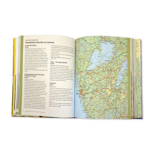 Bok och guide underbara Sverige mittuppslag 9789113077437