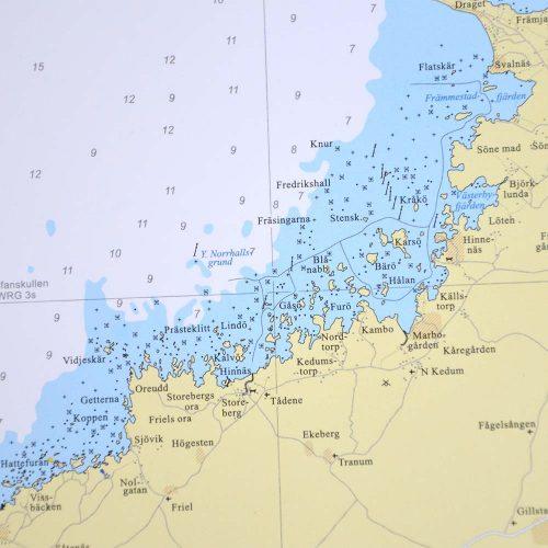 sjökort-vänern-vägg-hydrographica