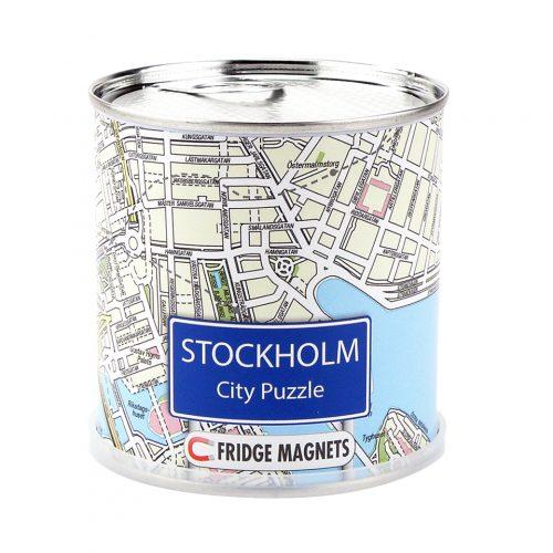 Pussel Stockholm city med magneter för kylskåpet 4260153734221