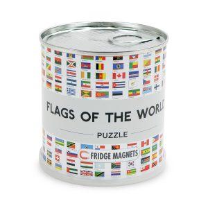 Pussel Flaggor över länder för kylskåpet 4260153734528