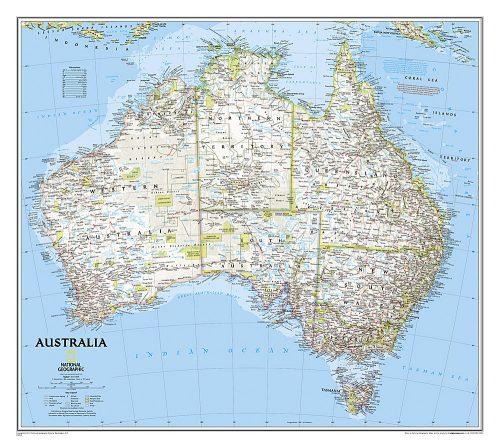 vaggkarta-over-australien-poster-national-geographic