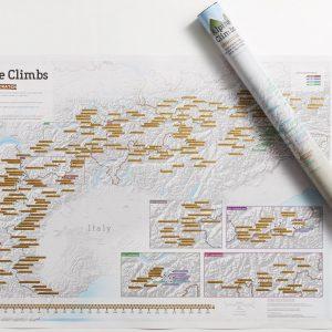 Skrapkarta över Alperna för klättraren huvudbild 9781912203659