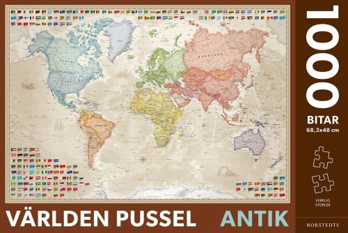varldskarta-pussel-antik-1000-bitar-9789113112565