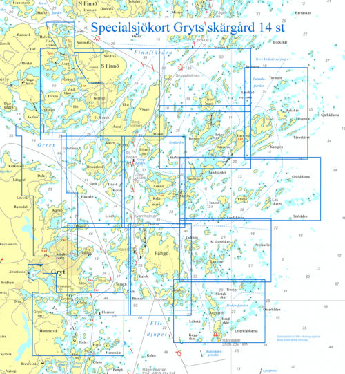 alla-specialsjokort-gryts-skargard-14-st-hydrographica-S62299P