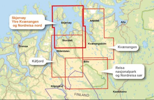 turkart-skjervoy-ytre-kvaenangen-nordreisa-nord-150-000-overview